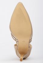 Sarah J - Ankle-strap Court Shoes Neutral