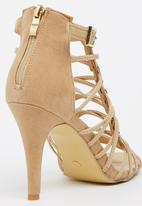 edit - Strappy Heels Neutral