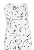 POP CANDY - Toddler Sleeveless Dress White