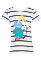 POP CANDY - Toddler Short Sleeve Applique Tee Multi-colour