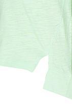 POP CANDY - Toddler 7 Raglan Sleeve Tee Light Green