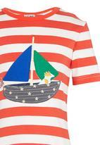 POP CANDY - Boat Tee Orange