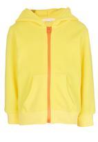POP CANDY - Duck Hooded Zip Jacket Yellow