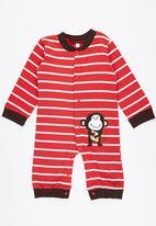POP CANDY - Stripe Monkey  Jumper Red