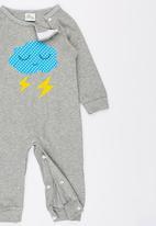 POP CANDY - Lightning Long Sleeve Jumper Grey