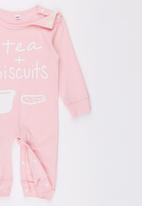 POP CANDY - Pink Tea Biscuts Jumper Pale Pink
