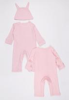 POP CANDY - 3 Piece Pink Bunny   Set Multi-colour
