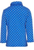 POP CANDY - Long Sleeve Turtle Neck Mid Blue