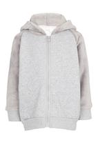POP CANDY - Hooded Pullover Jacket Grey