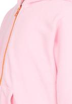 POP CANDY - Pink Bunny Hooded Zip Jacket Mid Pink