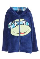 POP CANDY - Ninja Turtle Hooded Zip Jacket Mid Blue