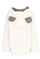 POP CANDY - Leapord Hooded Zip Jacket Multi-colour