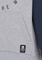 Quiksilver - Double Up Boys - Hoodie Blue and Grey