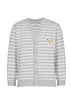 POP CANDY - Stripe Cardigan Grey