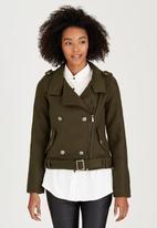 Brave Soul - Military Jacket Khaki Green