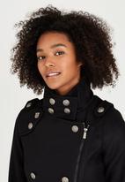 Brave Soul - Military Jacket Black