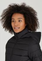 Brave Soul - Puffer Jacket Black