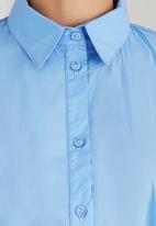 edit - Structured Work Shirt Pale Blue