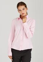 edit - Structured Work Shirt Pale Pink