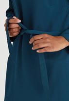 STYLE REPUBLIC - Lace Up Tunic Dark Blue