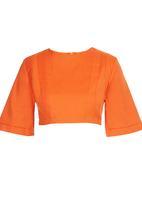 adam&eve; - Nala Cropped Top Orange