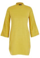 STYLE REPUBLIC - Oversized Jersey Dress Chartreuse