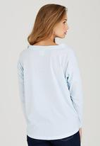 Rip Curl - Stripey Days Tee Blue and White