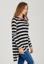 Rip Curl - Core Stripe Tunic Black and White