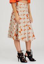 adam&eve; - Geneva High-waist Skirt Orange