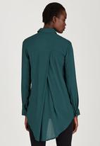 STYLE REPUBLIC - Boyfriend Shirt Green