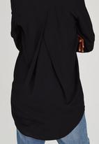 STYLE REPUBLIC - Boyfriend Shirt Black