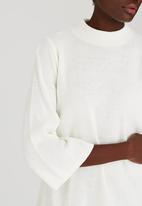STYLE REPUBLIC - Oversized Jersey Dress Milk