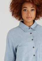 c(inch) - Oversized Shirt Pale Blue