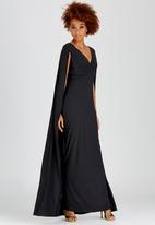 ELIGERE - Cape Gown Black