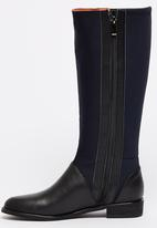 ERROL ARENDZ - Leather Knee-high Boots Navy