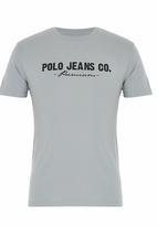 Polo Jeans Co. - Polo Jean Co. Printed Tee Grey