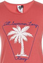 Roxy - All Summer Long - Tee Mid Pink
