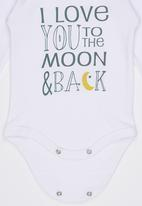 Funky Shop - Love to You The Moon And Back Babygrow Multi-colour