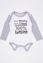 Funky Shop - 50%Mommy 50% Daddy Babygrow Multi-colour
