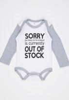 Funky Shop - Out Of Stock Babygrow Multi-colour