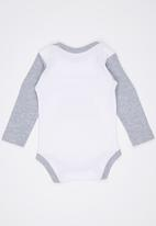 Funky Shop - Mamma And Pappa Babygrow Multi-colour