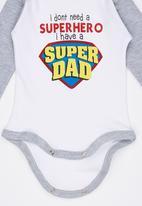 Funky Shop - Super Hero Babygrow Multi-colour