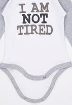 Funky Shop - I Am Not Tired Babygrow Multi-colour
