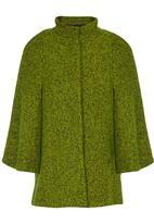 STYLE REPUBLIC - Wool-like Cape Green