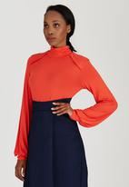 adam&eve; - Orna Polo Neck Orange