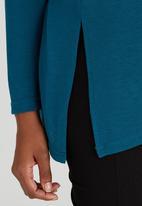c(inch) - Self Tie Tunic Turquoise