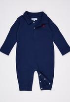 POLO - Tyler Classic Babygrow Navy