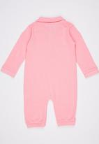 POLO - Tyler Classic Babygrow Pale Pink
