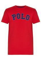 POLO - Rick Ss Crew Neck Tee Red