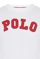 POLO - Rick Ss Crew Neck Tee White